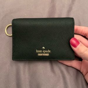 Small Kate Spade wallet with key ring